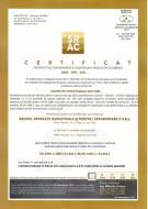12. Certificat de conformitate a productiei in fabrica